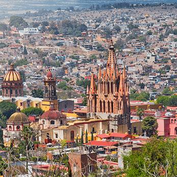 サン ミゲル デ アジェンデの海外旅行・海外ツアー