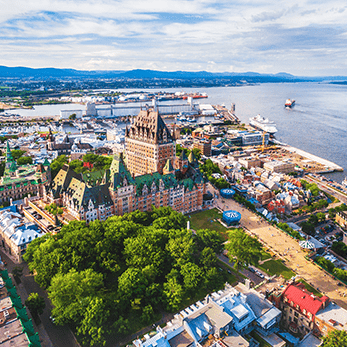 ケベック シティの海外旅行・海外ツアー
