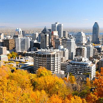 モントリオールの海外旅行・海外ツアー