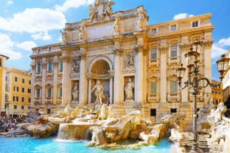 ◇ローマ:トレヴィの泉
