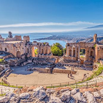 タオルミーナ[シチリア島]の海外旅行・海外ツアー