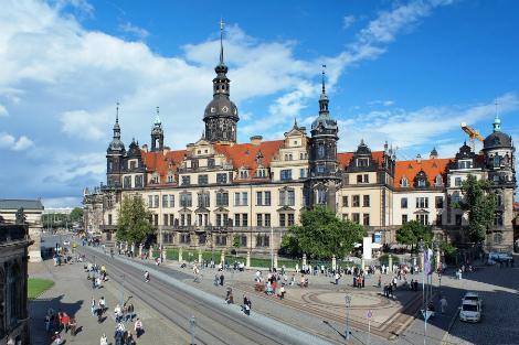 ドレスデン:ドレスデン城