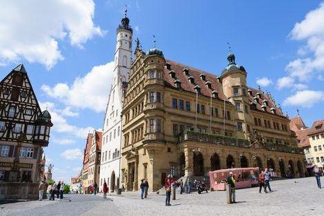 ローテンブルク:市庁舎