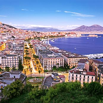 ナポリの海外旅行・海外ツアー