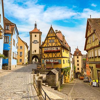 ローテンブルクの海外旅行・海外ツアー