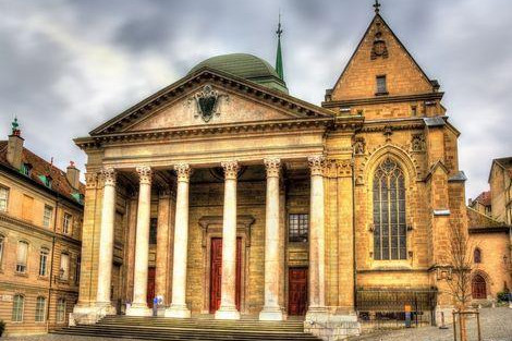◇◎ジュネーブ:サン ピエール大聖堂