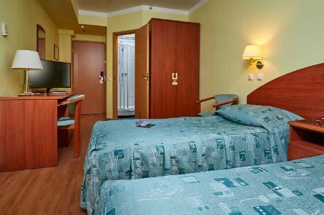 サンクトペテルブルク:ホテル ドストエフスキー 客室一例