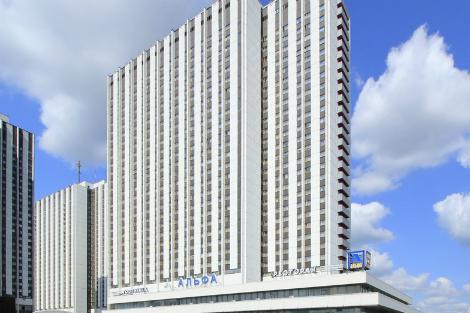 モスクワ:イズマイロヴォ アルファ ホテル 外観