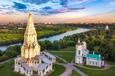 モスクワ:コローメンスコエの主の昇天教会