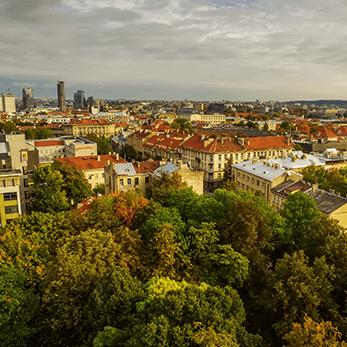 ビリニュス(リトアニア)の街並み
