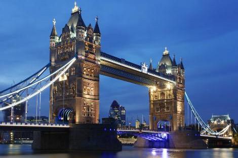 ロンドン:タワーブリッジ