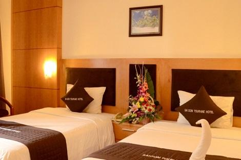 ダナン:サイゴン トゥーラン ホテル 客室一例