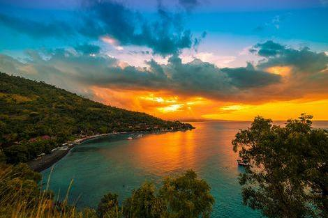 バリ島のサンセット