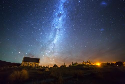 テカポ湖の星空(イメージ)