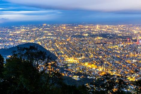 札幌:藻岩山からの夜景