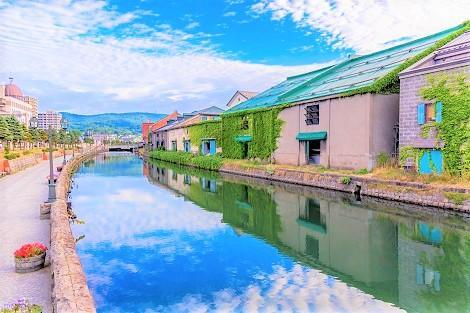 北海道 小樽の運河
