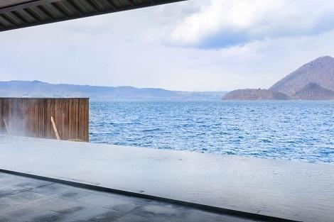 洞爺湖:洞爺サンパレス リゾート&スパ 露天風呂(洞爺サンパレス リゾート&スパ公式ホームページより)