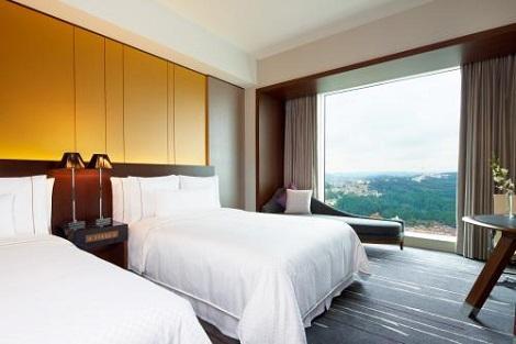 仙台:ウェスティンホテル仙台 ツインルーム一例
