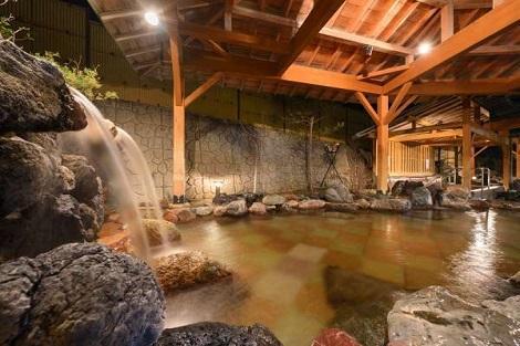 秋保温泉:ホテル瑞鳳 露天風呂