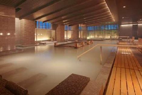 鳴子温泉郷:鳴子ホテル 大浴場