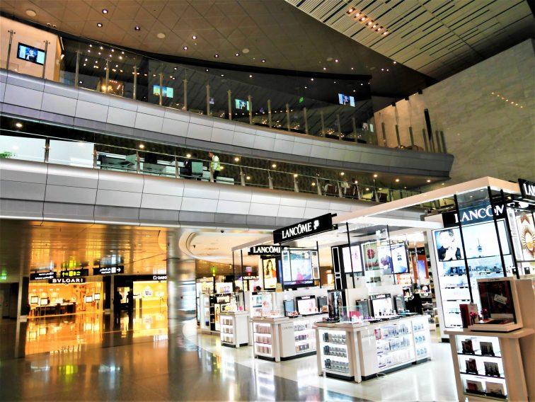 ドーハ空港免税店