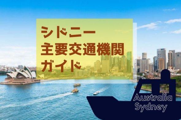 【シドニー】観光にお役立ち!電車、バス、フェリー 主要交通機関ガイド2019