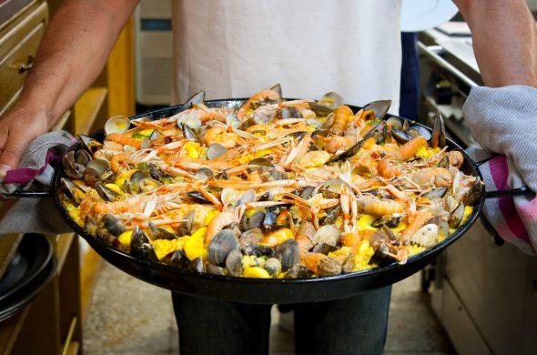 スペイン料理パエリア