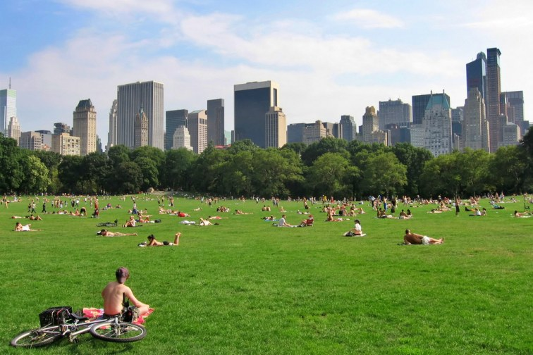 ニューヨーク・セントラルパーク