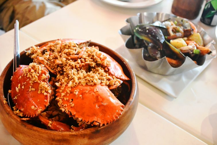 red crab meal1
