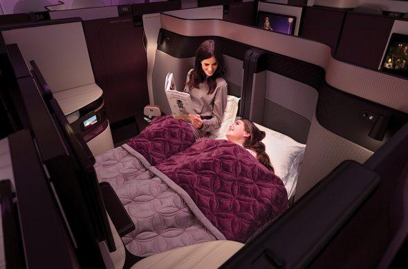 コロナ後の海外旅行はビジネスクラスが激安!2021年カタール航空Qスイートのツアー!