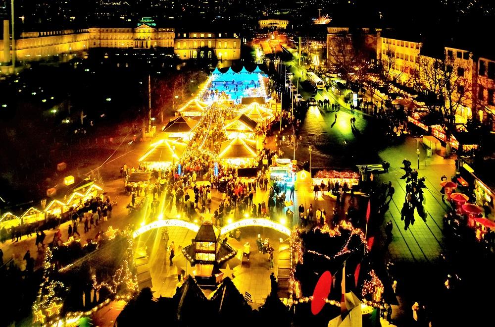 2020年世界最大のクリスマスマーケット・シュトゥットガルトinドイツ ...