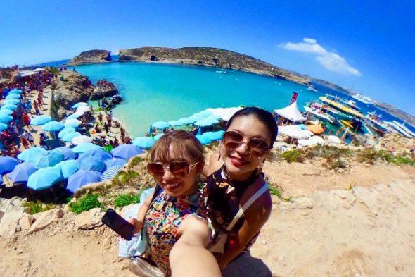 いとことマルタ島&ローマへグルメ&観光を満喫! 楽しくて大満足の女子旅!