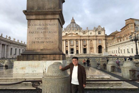 40年ぶりにイタリアへ
