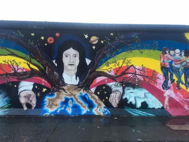 再度ベルリンの壁へ!