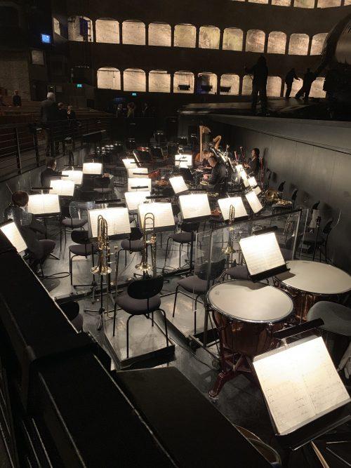 オペラ(フェルゼンライトシューレ)のオーケストラピット