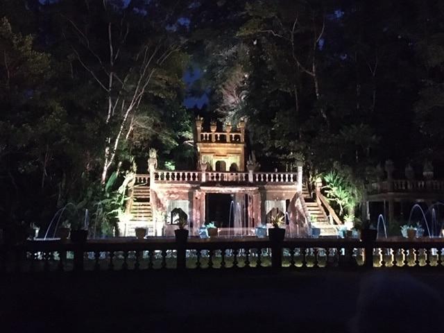 夜のパロネラパーク
