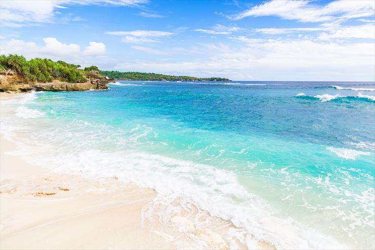 バリ島には、美しいビーチがたくさん