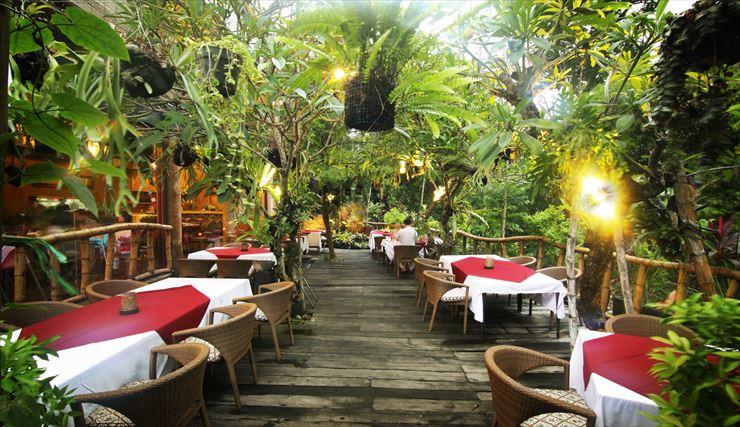 バリ島らしい雰囲気と遊び心のあるスタイル
