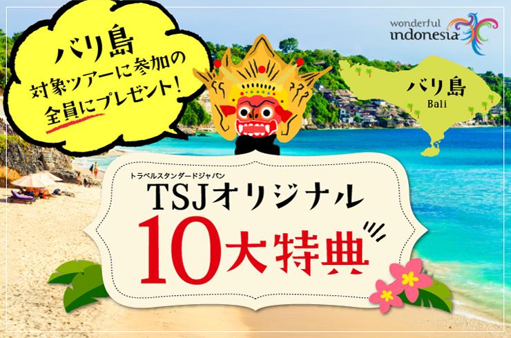 バリ島TSJオリジナル10大特典