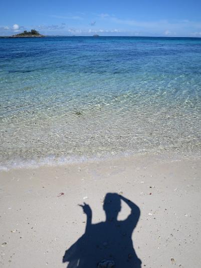『マラパスクア島』のビーチ