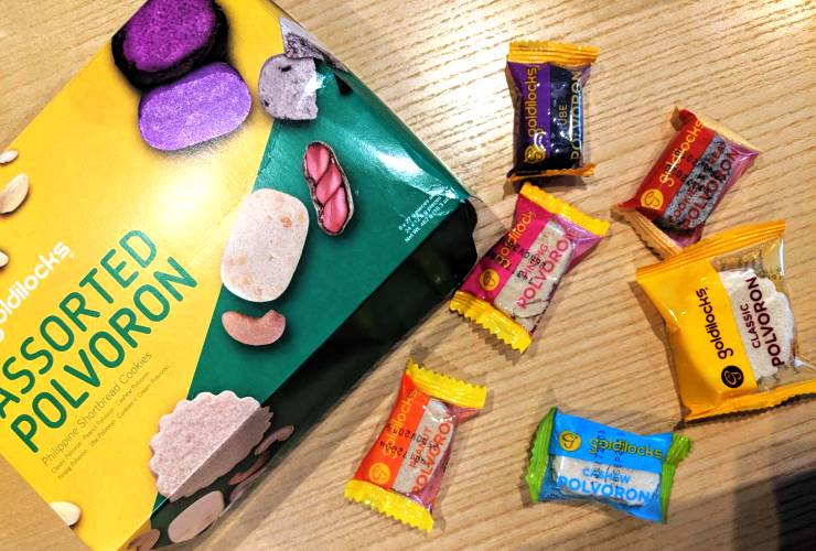 セブ島 お菓子シリーズ【第1弾】ホロホロ「ポルボロン」って何?