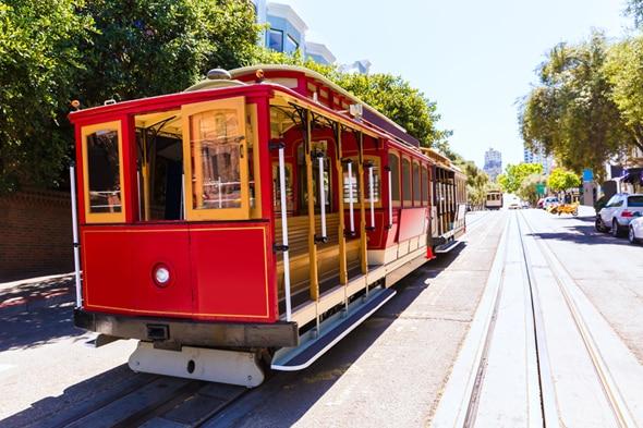 サンフランシスコの街並