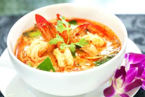 タイ料理のトムヤンクン