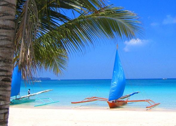ボラカイ島のビーチ