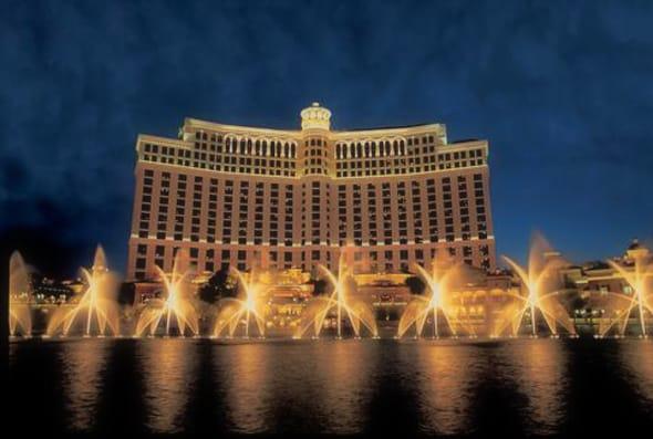 ツアーで利用するホテルはベラージオ
