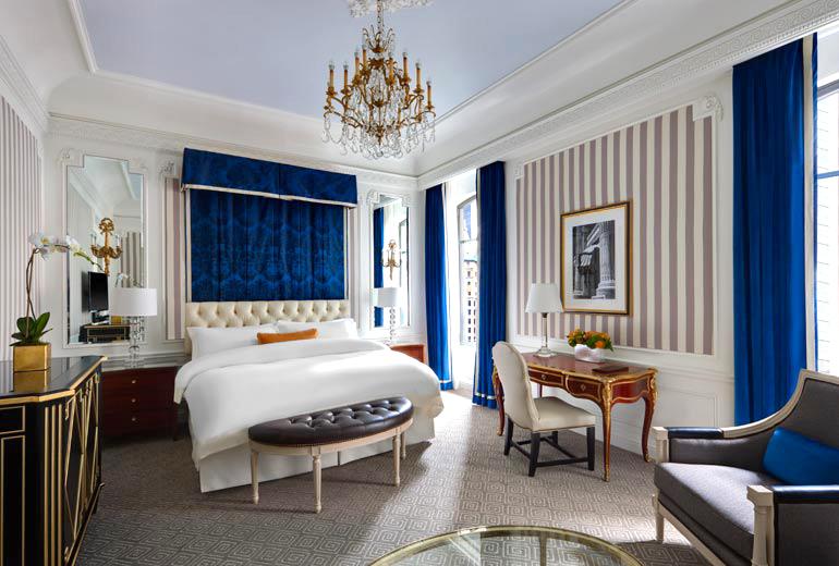 ニューヨーカーなら誰もが知っている高級ホテル「セント レジス ホテル ニューヨーク」で過ごす特別な時間