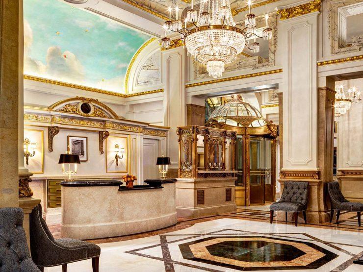 セント レジス ホテル ニューヨークロビー