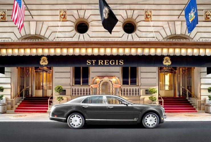 セント レジス ホテル ニューヨーク外観