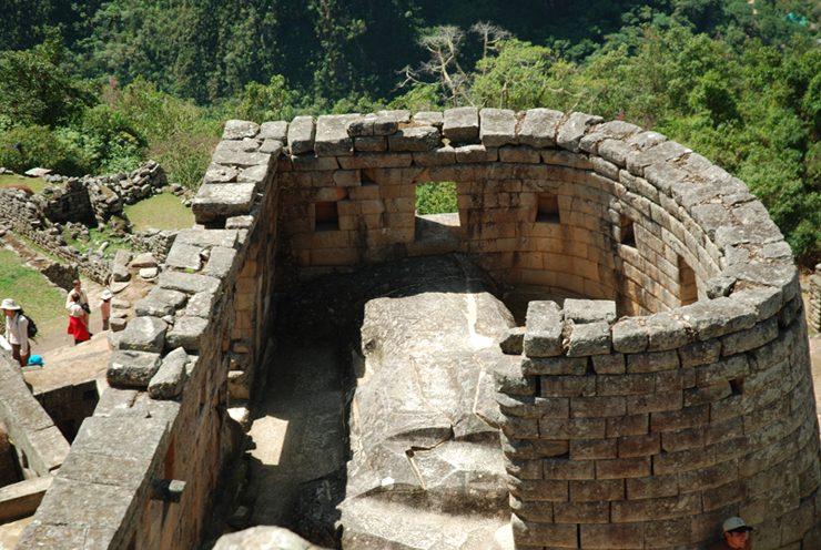 マチュピチュ太陽の神殿