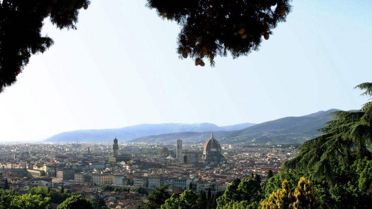 フィレンツェの街並